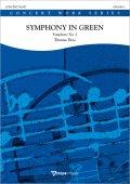 吹奏楽譜 緑の交響曲(シンフォニー・イン・グリーン)(Symphony in Green - Symphony No. 2) 作曲/トーマス・ドス