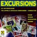 CD エクスカージョンズ(EXCURSIONS) アメリカ空軍バンド・自主制作盤シリーズ 【2013年10月取扱開始】