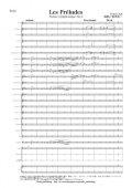 吹奏楽譜 交響詩「レ・プレリュード」(原調)(リスト/鈴木栄一)【2016年1月取扱開始】