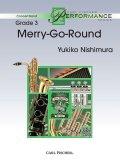 吹奏楽譜 Merry-Go-Round (メリーゴーランド) 作曲/西邑 由紀子【2016年6月取扱開始】