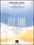 フレックス吹奏楽譜  ヘイ・ソング(The Hey Song) Gary Glitter作曲 Paul Lavender編曲