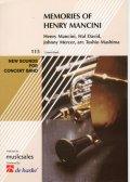 吹奏楽譜 New Sounds in Brass メモリーズ・オブ・ヘンリー・マンシーニ/真島俊夫編曲