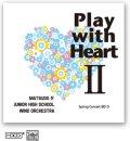 CD Play with Heart II 【松戸市立第四中学校吹奏楽部】