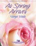 吹奏楽譜 春の訪れに(AS SPRING ARRIVES) 作曲/和田 直也(Naoya Wada)