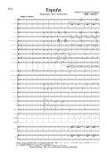 吹奏楽譜 狂詩曲「スペイン」 Espana, rapsodie pour orchestre(シャブリエ/鈴木栄一)【2016年1月取扱開始】