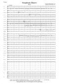 吹奏楽譜 交響的舞曲より第1楽章(ラフマニノフ/前田卓)【2016年1月取扱開始】