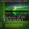 CD 地平線の神秘:イギリス吹奏楽作品集 第21集 【2016年6月取扱開始】