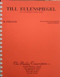 画像1: 吹奏楽譜 ティルオイレンシュピーゲルの愉快ないたずら シュトラウス作曲 ハインズレー編曲