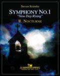 吹奏楽譜 交響曲第1番「ニュー・デイ・ライジング」第2楽章: 夜想曲 作曲/スティーブン・ライニキー(2008年新譜)