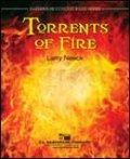 吹奏楽譜 トレンツ・オブ・ファイアー(TORRENTS OF FIRE) 作曲/ラリー・ニーク